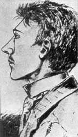 Адольф в 1905 году - набросок, сделанный одним из его друзей