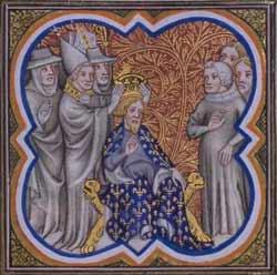 Коронация Карла Великого императорской короной папой Львом III