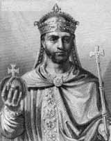 Людовик I Благочестивый - третий сын Карла Великого и его наследник