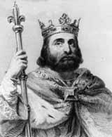 Пипин Короткий - король франков, отец Карла Великого