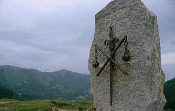 Памятник погибшим франкам в Ронсельванском ущелье