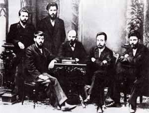 Владимир Ульянов с соратниками в 1897 году