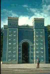 Ворота Иштар после восстановления