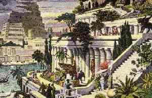 Висячие сады в представлениии древних греков