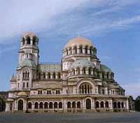Кафедральный собор в столице Болгарии - Софии, носящий имя Александра Невского