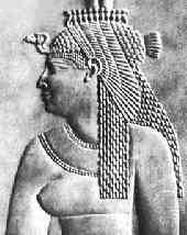Клеопатра - последняя египетская царица из рода Птолемеев