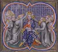 Коронация Филиппа III - отца Филиппа IV Красивого