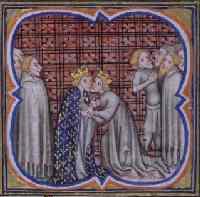 Примирение Филиппа IV Красивого с английским королем Эдуардом I