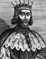 Английский король Генрих II, отец Ричарда
